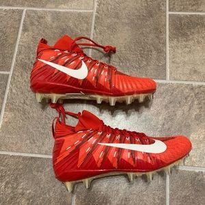 Nike Alpha Menace Elite Red Football Cleats